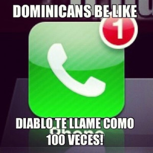 Dominicans be like...