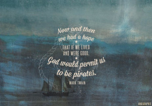 Mark Twain pirates quote