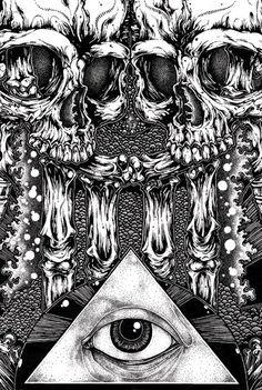 Juxtapoz Magazine - Santos Bleeds Ink | Illustration More