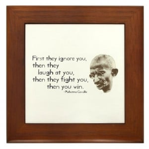 ... > Anti-War Living Room > Gandhi Quote -