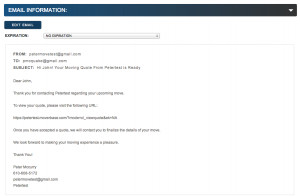 ... quotes and send them out to your customers in customizable emails