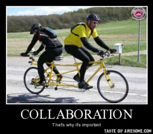 Collaboration needs to have the right balance