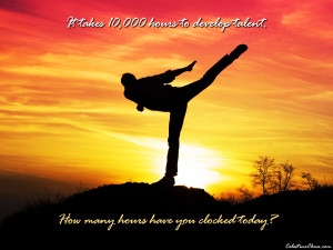 Image: 10,000 Hours To Talent wallpapers and stock photos