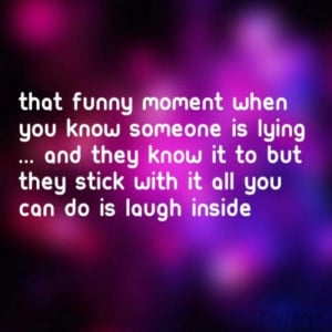 Funny Quotes About Liars