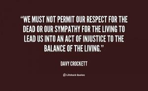 Davy Crockett Quotes