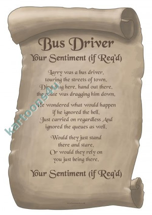 Zazzle Bus Driver Day Poem Hat