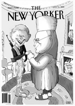 New Yorker Satire Obama
