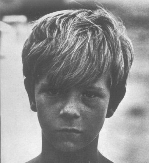 On the set of Lord of the Flies (1961)