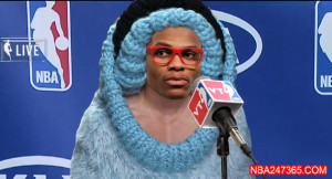 how to draw : Russell Westbrook