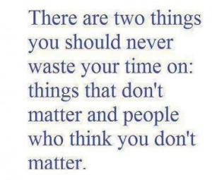 do matter