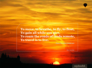 Travel Quote: Hans Christian Andersen on the Meaning of Travel ...