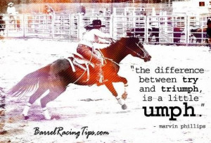 Barrel Racing Quotes Barrel Racing Quotes