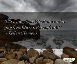 Montana Quotes