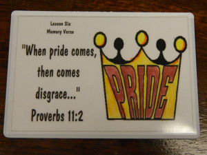 Bible Verses About Family Problems We have a new memory verse for