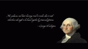 George Washington quote #2
