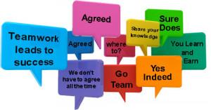 team work chat