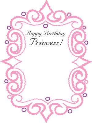 Happy Birthday Princes...