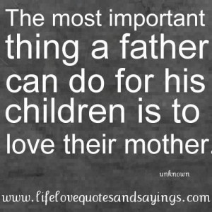Father love quotes his children