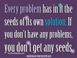 Positive quotes about problems, solution quotes