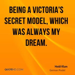 Quotes About Being a Model