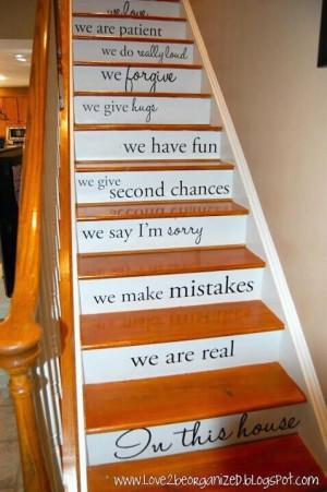 Staircase sayings