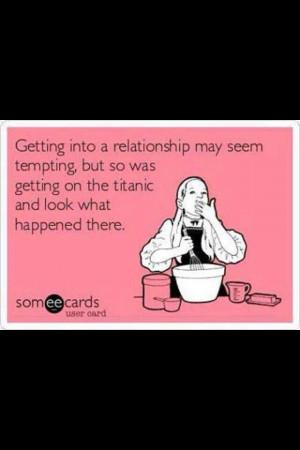 Relationship like the Titanic!!!