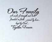 God Family Strength Quotes...