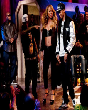 LOL! VIDEO: Mariah Carey Shuts Nick Cannon Down On 'Wild 'N Out'