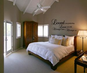 romantic wall decal