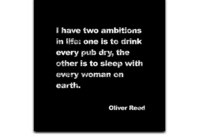 Quotes Oliver Reed Said What?