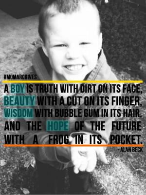 Bubble gum in the hair + a frog in their pocket. via @Karen Hammons # ...