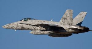 USA Marine F/A-18C Hornet