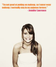 jennifer lawrence inspirational quotes