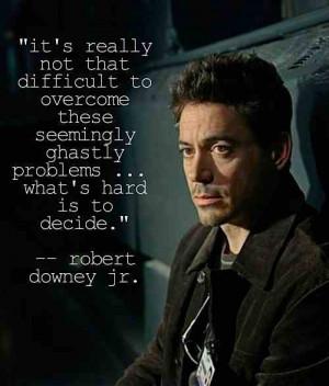 Robert Downey Jr. motivational quotes