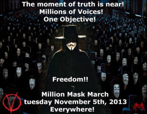 The moment of truth is near! Millions of Voices! One Objective!