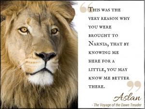 Narnia Quotes Aslan The Lion