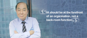 Mr Eric Lim, President of IIA Singapore and Head of Internal Audit (IA ...