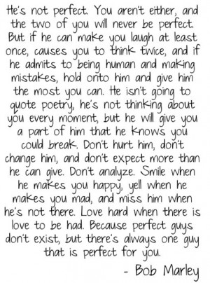 bob marley to live by