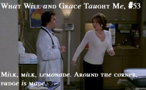 Will and Grace Season 3 Episode 4- Girl Trouble)