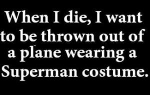 Naughty Superman Funny...