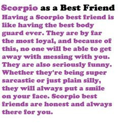 Scorpio Funny