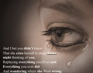 Quotes And Sayings That Make You Cry Sad Love Quotes For Her For Him ...