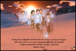 Develop the unshakable conviction that the Divine is present in ...