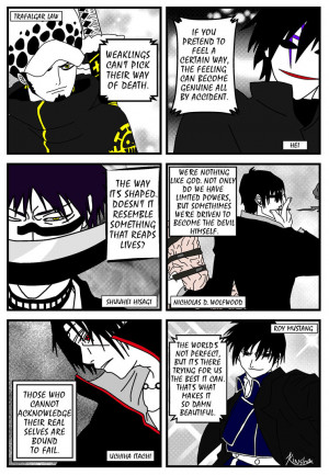 Awesome Quotes From Awesome Anime by kinsha-san