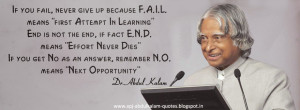 Abdul Kalam Quotes - Famous Quotes by Abdul Kalam - Abdul Kalam ...