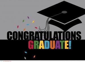 congratulations congratulations graduates