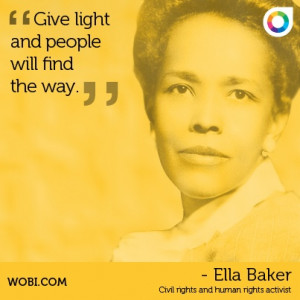 Ella Baker quote
