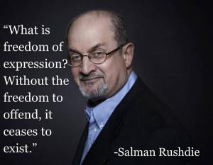 Vad är yttrandefrihet, utan frihet att förnärma?