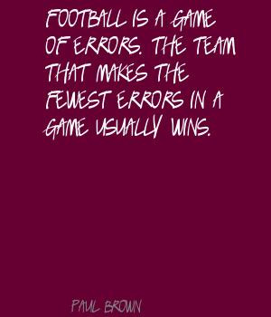 Football Team Quotes