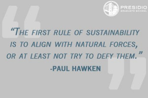 ... Paul Hawken, Sustainable Business Pioneer and Presidio Faculty Member